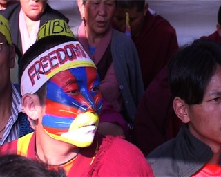 Tibetan Youth Congress Hunger striker